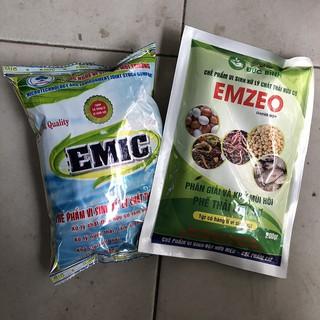 Chế phẩm ủ phân EM Emic + Chế phẩm vi sinh EMZEO khử mùi hôi, bộ đôi ủ phân hữu cơ hoàn hảo