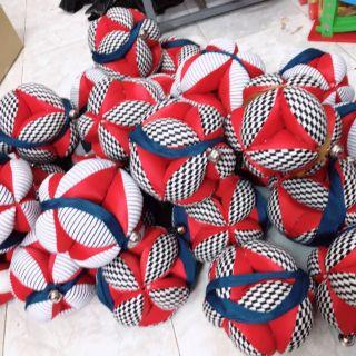 Bóng vải luyện chân Montessori màu tương phản- Hàng Handmade (Viet Nam)