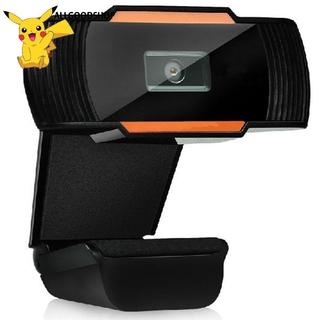 Webcam Xoay 1 Pcs 30 Độ 2.0 Hd 720p Usb Cho Máy Tính thumbnail