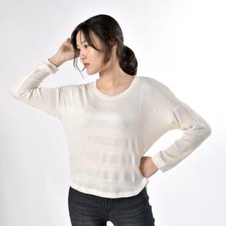 Áo len nữ trắng tay dài WINNY - WCS12101A thumbnail