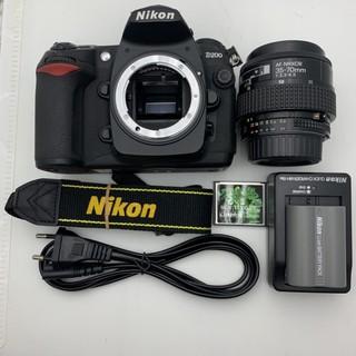 Bộ máy ảnh nikon D200 kèm ống nikon 35-70f3.3-4.5D