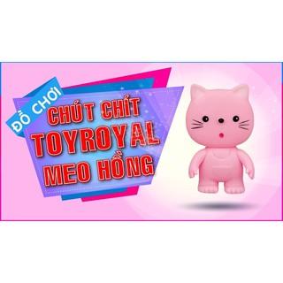 (Quá Rẻ)Chút chít hình con Mèo hồng Toyroyal