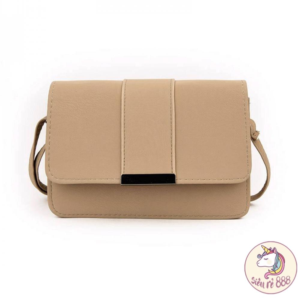 [ BEST SELLER ] Túi xách nữ đeo chép da trơn trẻ trung - T583