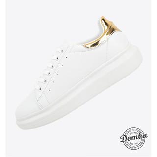 Giày Domba gót vàng ánh kim H-9117 thumbnail