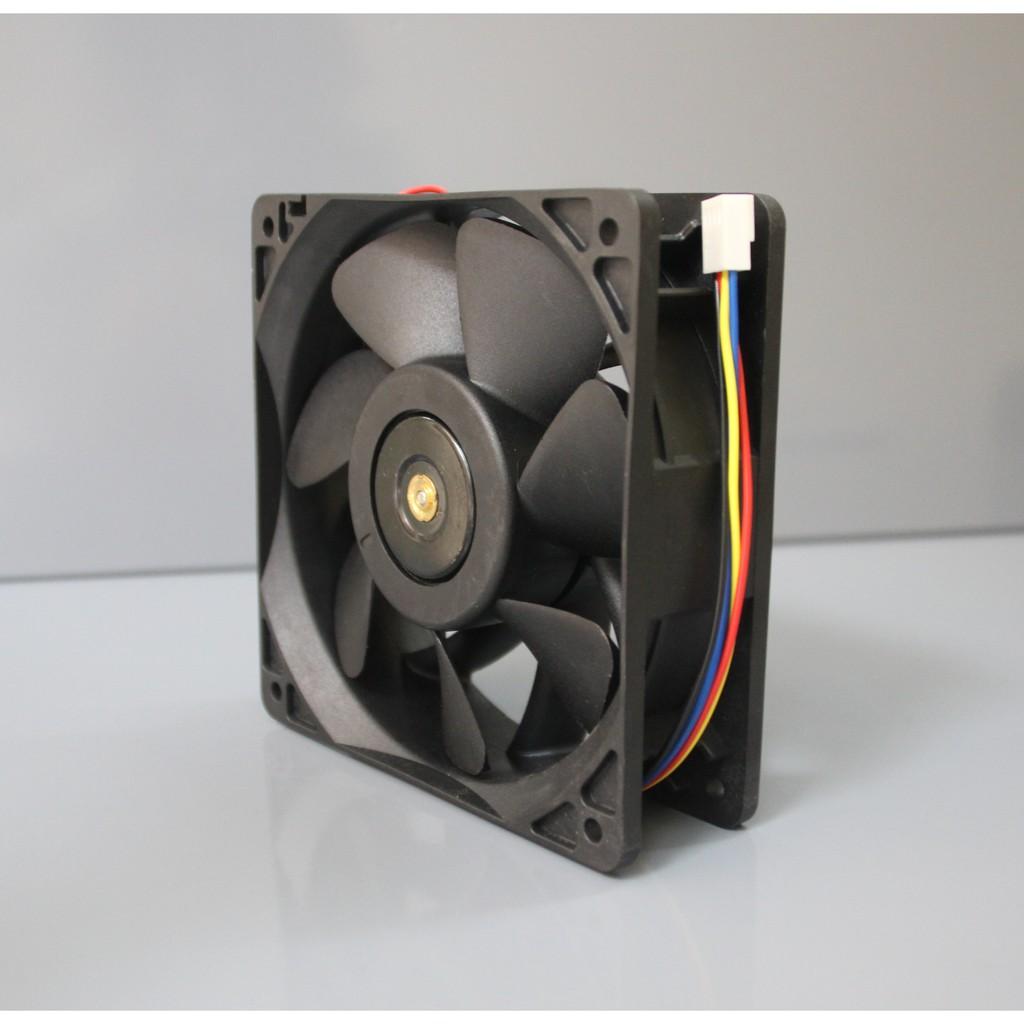 Fan cho máy ASICS Antminer S7 S9 L3 L3+ D3... - Quạt bi server 12cm