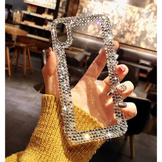 Case Oppo F5 F7 F9 F1S A3S A39 A77 A37 A33 Handmade Bling Diamond Case Cover