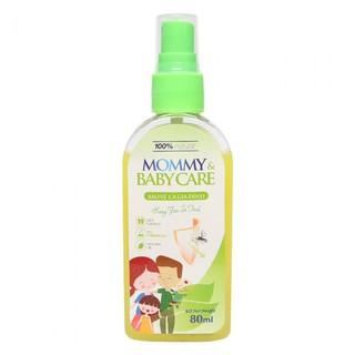 Xịt chống muỗi mommy & baby care (sỉ, lẻ) 80ml 100% chất tự nhiên an toàn cho mẹ và bé - VUBABY thumbnail