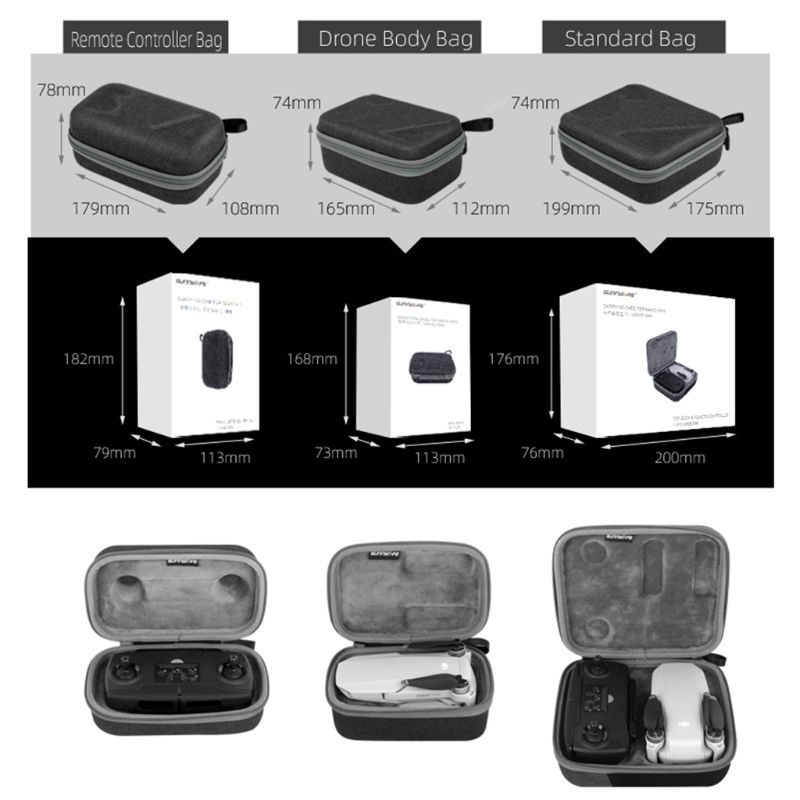 Travel Carry Case Storage Protective Bag Storage Box for Mavic Mini Drone