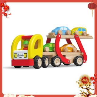 Đồ chơi trẻ em Xe hai tầng bằng gỗ hàng winwintoys 67292 Việt Nam