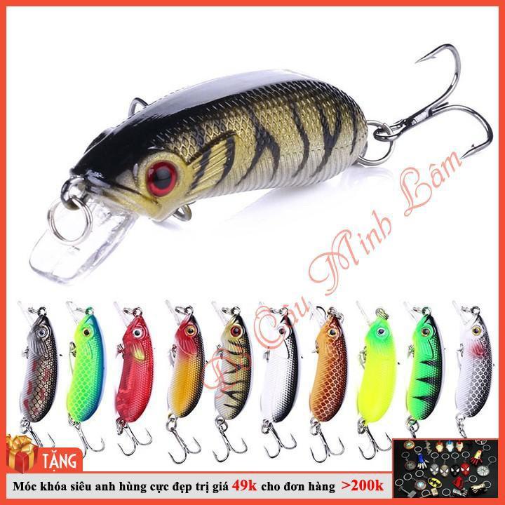 [RẺ VÔ ĐỊCH] mồi câu cá giả chuyên nghiệp chuyên bắt cá chuối, cá lóc, cá chim