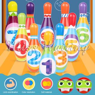 Mini Bowling Toys Outdoor Sports Toys Outdoor Sports Games Toy Golf Children Multicolor Parent-Child Interaction Kids