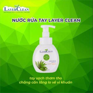 Nước rửa tay dạng bọt Layer Clean 330ml
