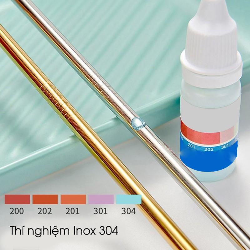 [Tặng túi và cọ rửa] Bộ ống hút và ly giữ nhiệt inox 304 Kosko bình nước giữ nhiệt