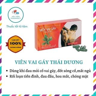 Viên vai gáy Thái Dương hỗ trợ điều trị đau mỏi vai gáy, rối loạn tiền đình, đau đầu, mất ngủ thumbnail