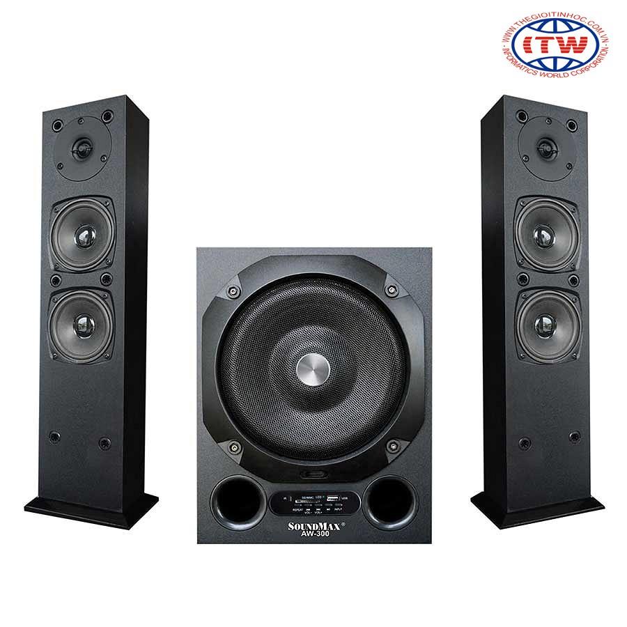 Loa Vi Tính SoundMax AW-300/2.1 80W