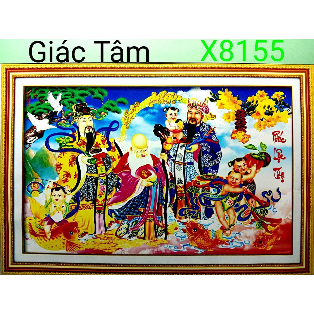 Tranh thêu PHÚC LỘC THỌ - 64x43cm - X8155 - THẦN TIÊN CÁ CHÉP ĐỒNG TỬ CHIM HẠC CÂY TÙNG - tranh thêu chữ thập chưa thêu - 14184681 , 2667602011 , 322_2667602011 , 177000 , Tranh-theu-PHUC-LOC-THO-64x43cm-X8155-THAN-TIEN-CA-CHEP-DONG-TU-CHIM-HAC-CAY-TUNG-tranh-theu-chu-thap-chua-theu-322_2667602011 , shopee.vn , Tranh thêu PHÚC LỘC THỌ - 64x43cm - X8155 - THẦN TIÊN CÁ CH