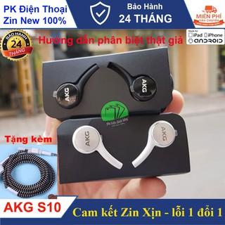 Tai nghe Samsung AKG S9,S10,S10 Plus, Made in Việt Nam -Tặng kèm núm tai+ dây quấn tai nghe