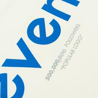 Hình ảnh Áo thun LEVENTS Popular Logo/ Cream Blue-6