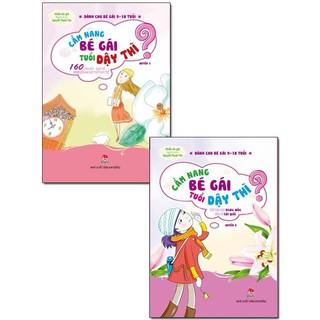 Combo Cẩm Nang Bé Gái Tuổi Dậy Thì (trọn bộ 2 cuốn)