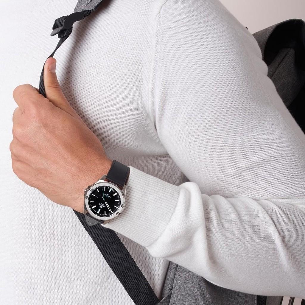 Đồng hồ Nam dây da Casio Edifice EFR-S107L-1A chính hãng bảo hành 1 năm Pin trọn đời