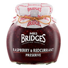 Mứt các loại quả cao cấp nhập khẩu Scotland Mrs Bridges (340g)