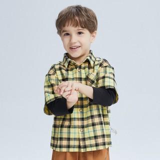 Áo sơ mi tay dài Balabala dành cho bé trai - 210232012040433 thumbnail