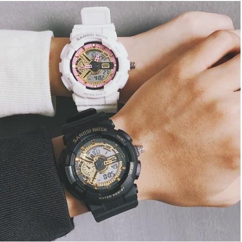 Đồng hồ thể thao Unisex SANOSI size 36mm thời trang sành điệu cho giới trẻ