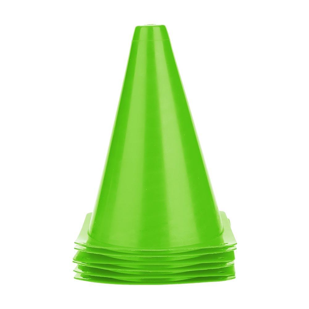 Set 6 cột tam giác kích thước 18cm chuyên dùng trong luyện tập thể thao