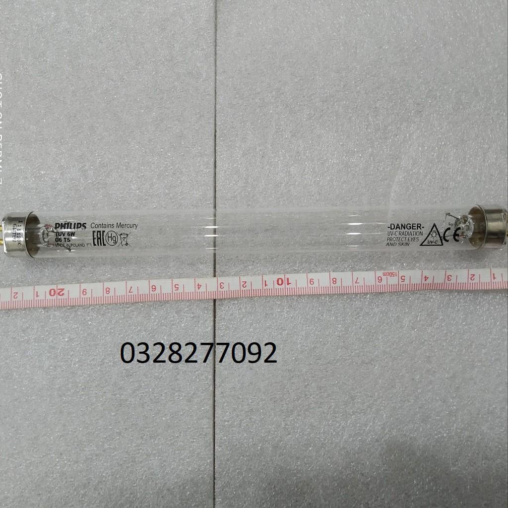 Đèn khử trùng UV - Bóng Đèn diệt khuẩn Philips TUV 6W G4T5 Poland