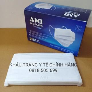 Khẩu trang y tế Ami (Hàng chính hãng - 4 lớp cao cấp) 5