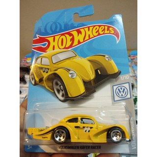 Xe Mô Hình Chính Hãng HotWheels – Volkswagen Kafer Racer (Yellow)