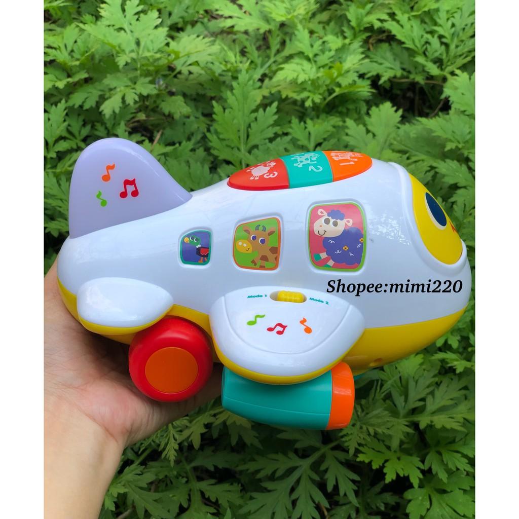 Máy bay Learning Plane Bump'n Go My Kingdom có nhạc, đèn, di chuyển được (tặng kèm pin)