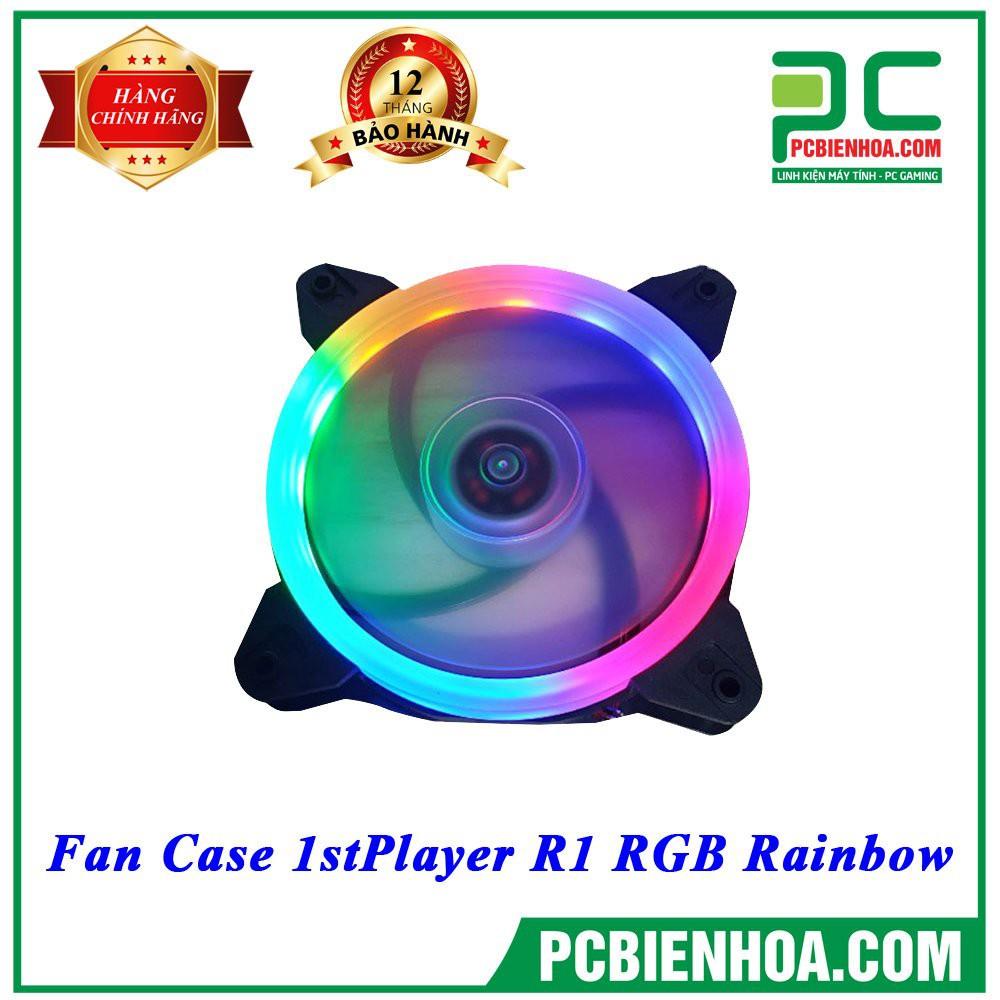 Rẻ ngon Fan case 1ST Player R1 RGB Rainbow