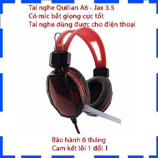 [Mã ELFLASH5 giảm 20K đơn 50K] Tai Nghe Gaming Qinlian A6 Jack 3.5 - Có Mic Bắt Giọng Cực Tốt - Âm Thanh Sống Động