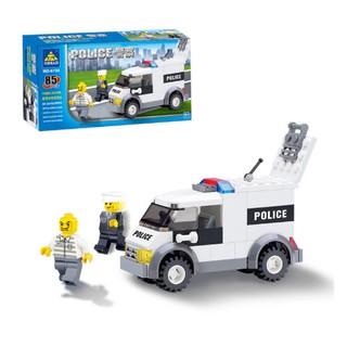 Bộ đồ chơi xếp hình xe cảnh sát