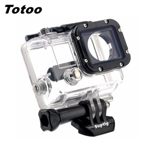 For GoPro Hero 3 Hero3 Underwater Protective Box Waterproof Housing Case Shell Mount For Go pro 3 Action Camera Accessories【oy】