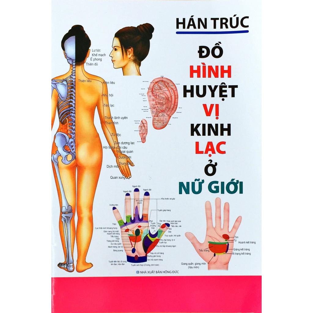 Sách - Đồ Hình Huyệt vị kinh lạc ở Nữ Giới - Hán Trúc
