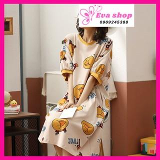 Váy ngủ, Đầm ngủ dáng suông thời trang, hàng nhập khẩu cao cấp, váy bầu MS746 thumbnail