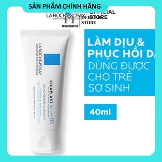 Kem dưỡng giúp làm dịu, làm mượt, làm mát & phục hồi da phù hợp cho trẻ em La Roche-Posay Cicaplast Baume B5 40ml thumbnail