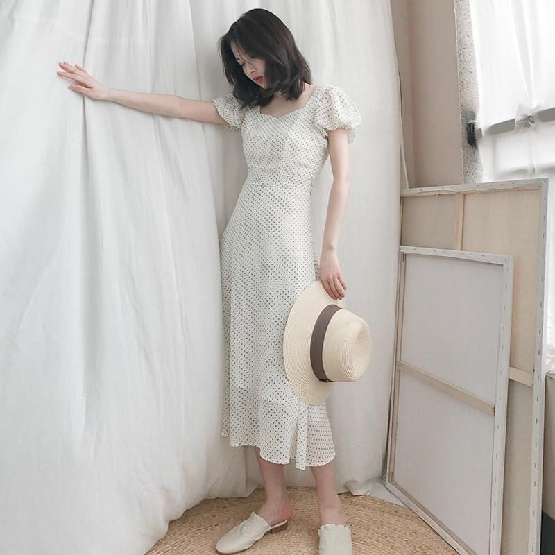 Váy Công Sở Thiết Kế Hàn Quốc Siêu Hách Dáng Mẫu Mới Nhất-Chất Bao Xịn VTK02