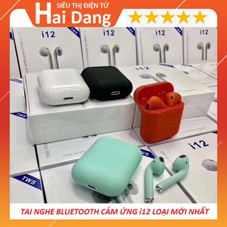 Tai Nghe Bluetooth i12, Tai Nghe Không Dây i12 TWS, Hàng Nhập Khẩu thumbnail