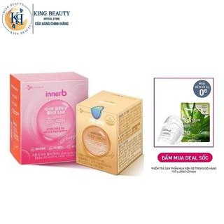 Bộ Đôi Cấp Ẩm Bổ Sung Collagen Làm Đẹp Da Innerb Aqua Rich(lọ 70 viên)và Nước uống Collagen Vitamin C Hộp 6 chai(50mlx6) thumbnail