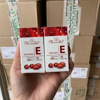 Vitamin e đỏ nga 400mg lọ nhựa 30 viên