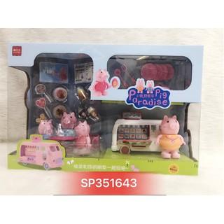 Đồ chơi xe lưu động bán bánh kem Heo Peppa , 995