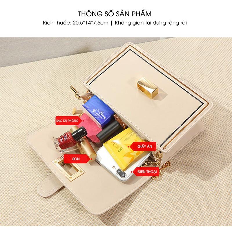 Túi đeo chéo nữ thương hiệu XI XIANG JI phong cách Hàn Quốc trẻ trung X5654
