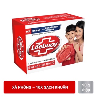 Xà bông Lifebuoy bảo vệ vượt trội 90 gam thumbnail