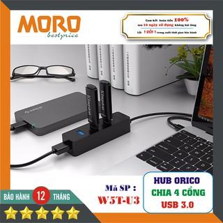 [Mã ELFLASH5 giảm 20K đơn 50K] [Bộ chia USB 3.0] HUB chia 4 cổng USB 3.0 (Hub USB 3.0) Orico W5P-U3 - Hàng Chính Hãng