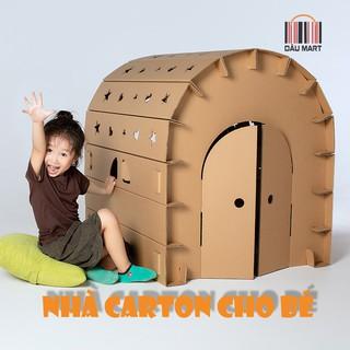 Nhà giấy carton lắp ráp cho bé - Nhà lắp ghép thông minh, Sáng Tạo và An Toàn thumbnail