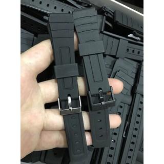 Dây nhựa dùng cho đồng hồ Casio F94,khoá inox và khoá nhựa thumbnail