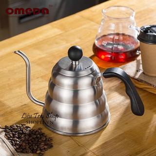 Bình cổ ngỗng pha cà phê cafe ấm cổ ngỗng vòi dài 1.2L